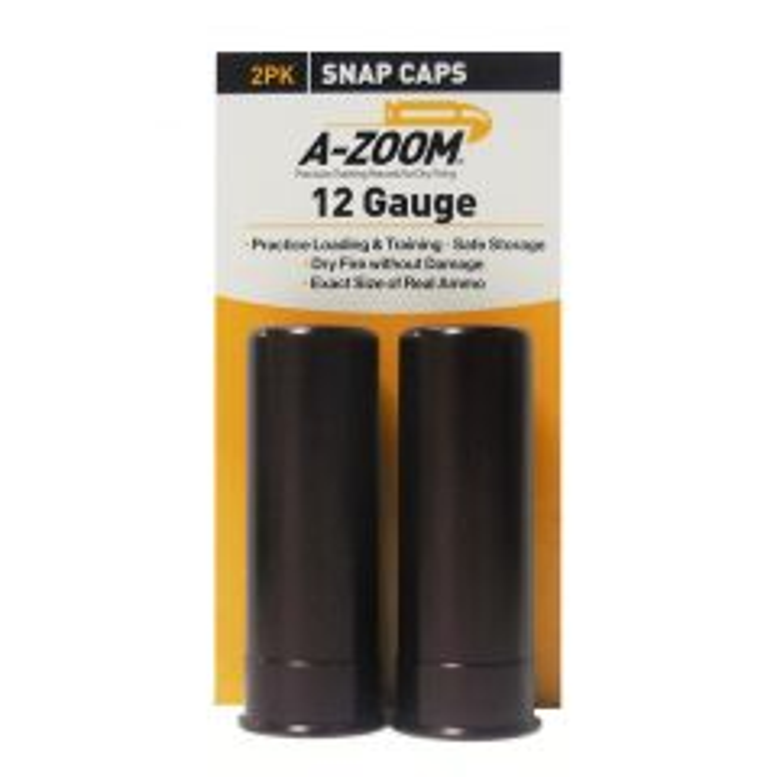 A-Zoom Snap Caps 12 GA. - 2 PACK (12211)