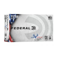Federal 270 WIN 130 GR SOFT POINT 20 ROUNDS (270DT130)