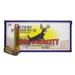 Remington Peters Premier Blue 45-70 GOVT 405 GR CORE-LOKT SP 20 ROUNDS (28340)