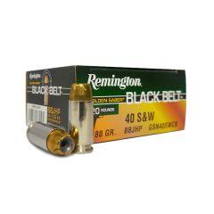 Remington Golden Saber 40 S&W 180 GR BBJHP 20 ROUNDS (29447)