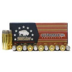 Ultramax 500 S&W 330 GR RNFP 20 RDS (500SW4)