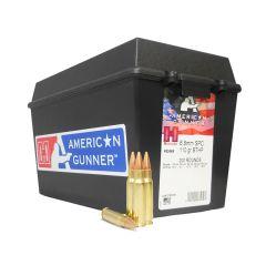Hornady American Gunner 6.8 MM SPC 110 GR BTHP 200 ROUNDS W/AMMO CAN (83469)
