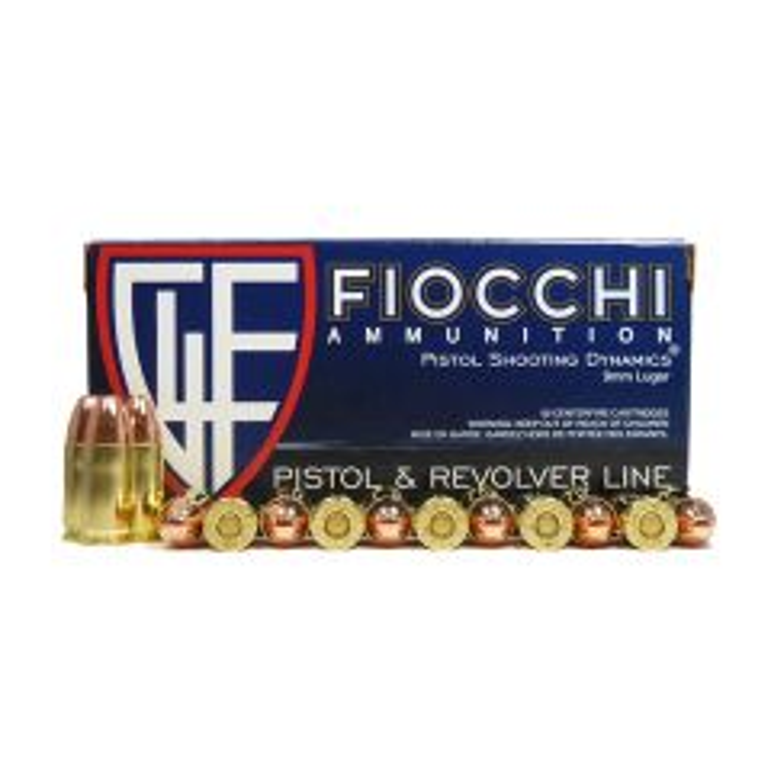 Fiocchi 9 MM 124 GR. CMJ (9APBCMJ) SALE
