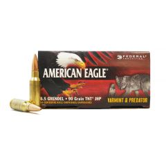 American Eagle 6.5 GRENDEL 90 GR TNT JHP 50 ROUNDS (AE65GDL90VP)