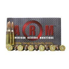 American Reserve Munitions 338 Lapua Mag 250 GR SOFT POINT (ARM338LM)