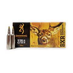 Browning 270 WSM  BXR  134 Gr. 20 RD BOX (B192102701)