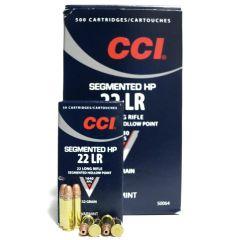 CCI 22 LR 32 GR Segmented HP 500 RDS (0064)