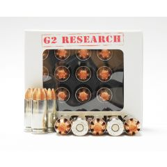 G2 Research CIVIC DUTY 40 S&W 123 GR. 20 RDS