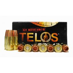 G2 Research TELOS 9 MM +P 92 GR SELF DEFENSE ~ HOLLOW POINTS  20 RDS