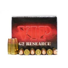 G2 Research VIP 9 MM 95 GR Lead Free Tracer 20 RDS