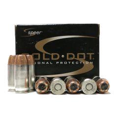 SPEER GOLD DOT 45 AUTO 185 GR GDHP 20 RDS (23964)