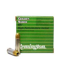 Remington Golden Saber 38 Special +P 125 GR BRASS JHP 25 ROUNDS (GS38SB) SALE!