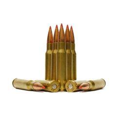 LAX Ammunition REMAN 308 WIN 168 GR A-MAX 250 RDS W/FREE AMMO CAN