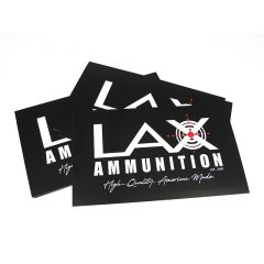 LAX Ammunition FREE Sticker