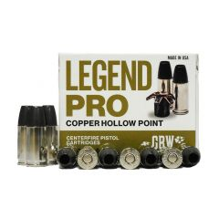 GBW Legend Pro 9 MM 115 GR HP 20 RDS (LP9MMA)