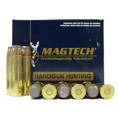 Magtech 500 S&W MAG 400 GR SJSP-FLAT 20 RDS (500A)