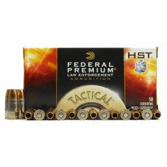 Federal Premium LE 9 MM 147 GR. HST 50 RDS (P9HST2)