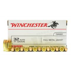 Winchester 32 AUTO 71 GR. FMJ 50 RDS (Q4255)