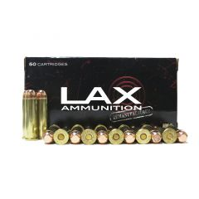 LAX Ammunition Reloaded 357 MAG 158 GR