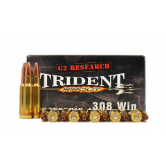 G2 Research Trident 308 WIN 150 GR SUPERSONIC 20 RDS