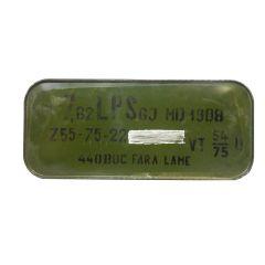 ROMANIA 7.62X54R 148 GR FMJBT SilerTip 440 ROUNDS - SEALED TIN