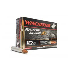 Winchester RazorBoarXT 270 WIN 130 GR HP 20 ROUNDS (S270WB)