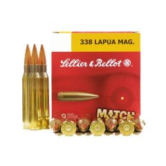 Sellier and Bellot 338 LAPUA MAG 250 GR HPBT