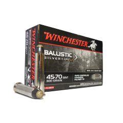Winchester 45-70 GOVT 300 GR. Ballistic Silver Tip 20 ROUNDS (SBST4570)