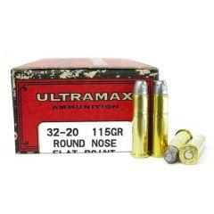Ultramax 32-20 WIN 115 GR LEAD RNFP 50 RDS