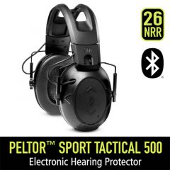 Peltor Sport Tactical 500 Electronic Hearing Protection (TAC500-OTH)