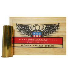 Winchester 12 GA M19 BRASS 00BUCK 5 RDS ~Limited Edition Wooden Box ~ (X1200WW2) SALE!!!