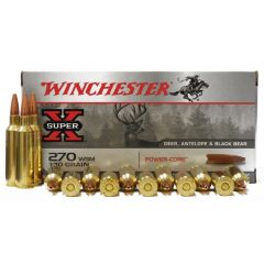 Winchester 270 WSM 130 GR POWER-CORE 20 RDS (X270WSMLF)