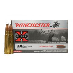 Winchester 338 WIN MAG 200 GR. Power Point  (X3381)