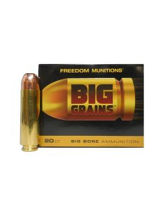 Freedom Munitions Big Grains 50 BEOWULF 325 Gr. RNFP 20 ROUNDS