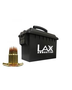 LAX Ammunition Factory New 308 WIN 150 GR FMJ 250 Rounds W/Free Ammo Can